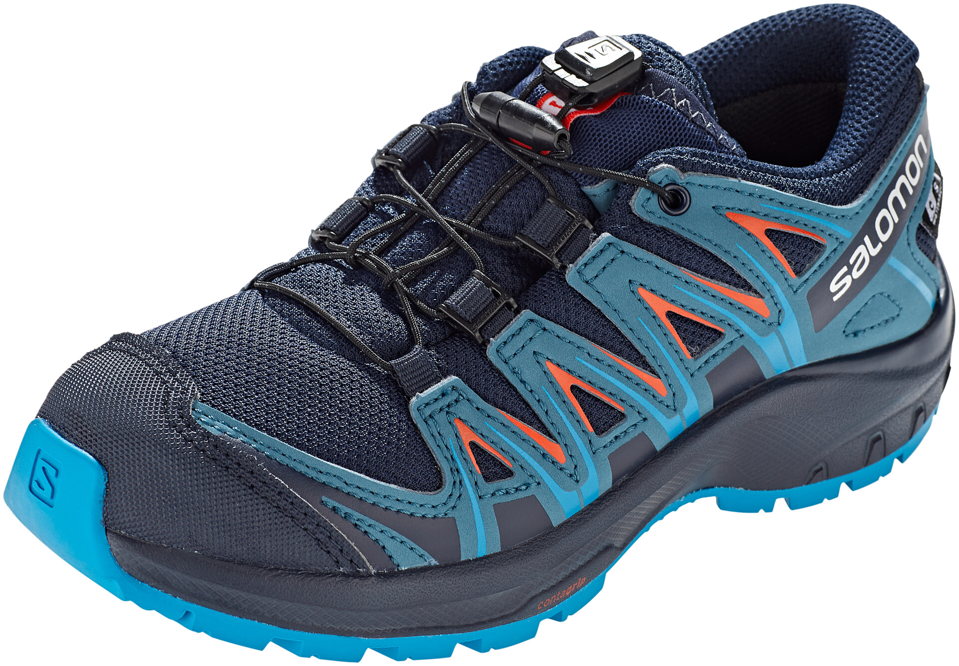 Salomon XA Pro 3D CSWP Chaussures Adolescents, navy blazermallard bluehawaiian